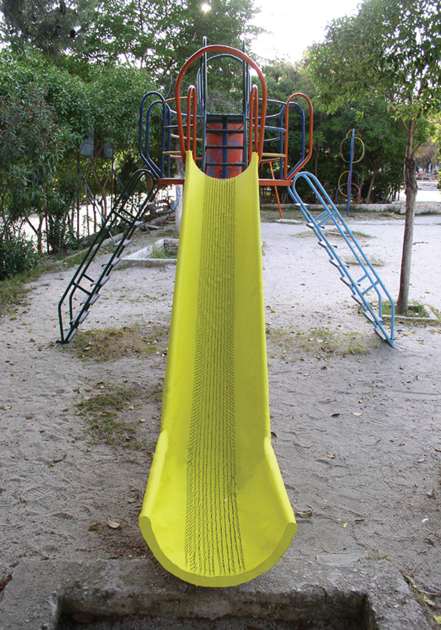 Slide with Nails