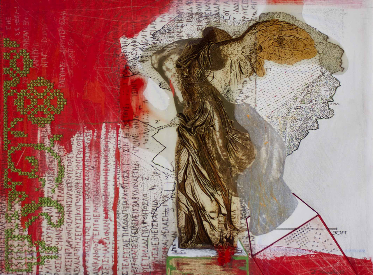 Victory in red - Dimitra Chanioti