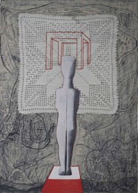 Cycladic Sculpture - Dimitra Chanioti