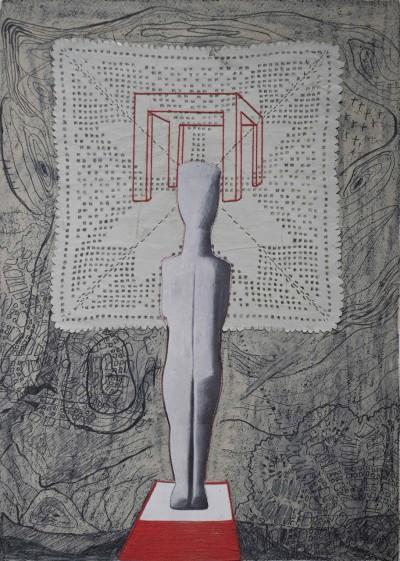 Cycladic Sculpture - Dimitra Chanioti