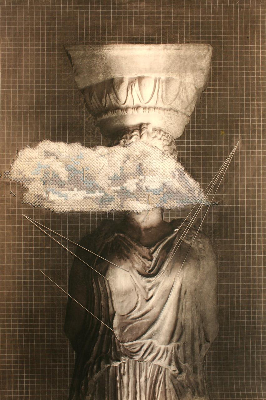 Caryatid Pythoness - Dimitra Chanioti